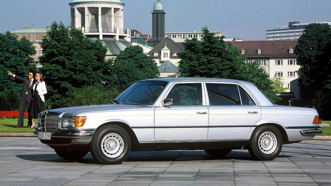 Platz 9: Mercedes 450 SEL