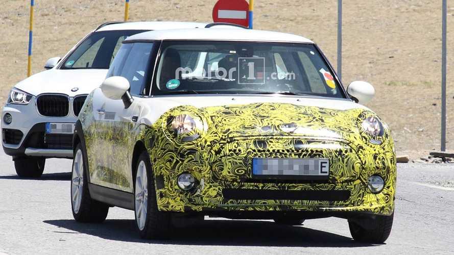 Elektrikli MINI test sürüşünde görüntülendi