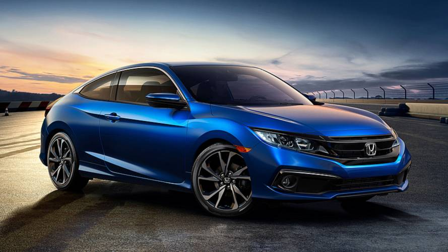 2019 Honda Civic sedan ve coupe'ye Sport versiyonu geliyor