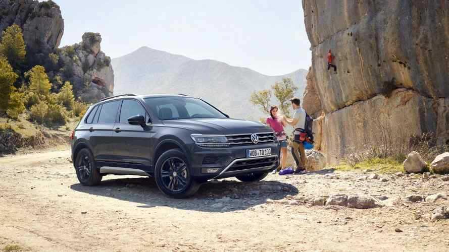Volkswagen Tiguan'ın Offroad adlı versiyonu piyasaya sunuluyor