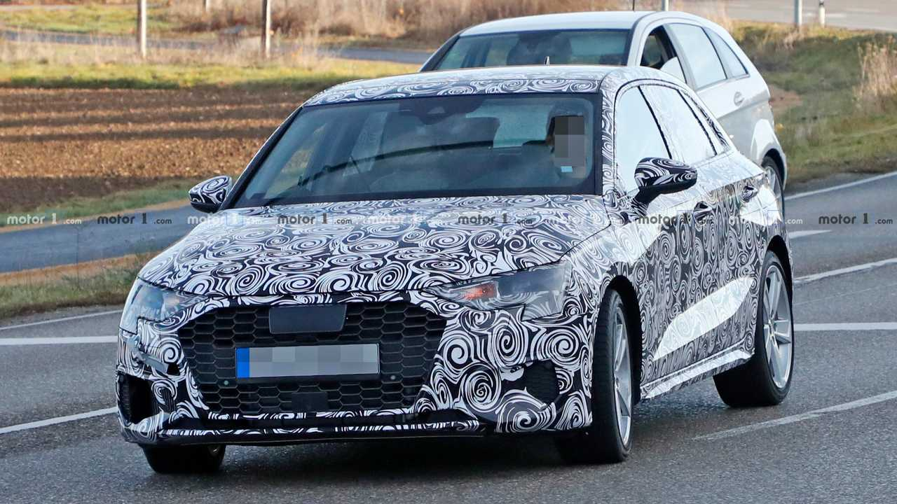 New Audi S3 Spied On The Street Looking Production Ready Car In My