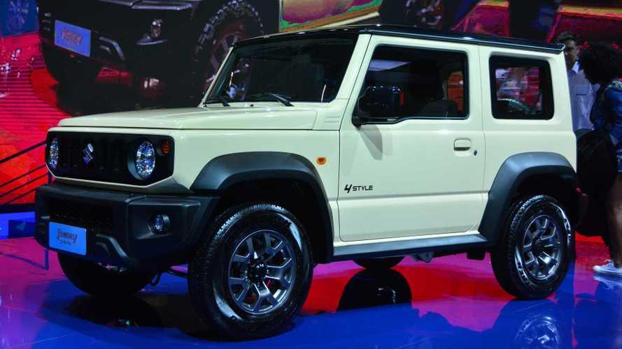 Salão de SP: Novo Suzuki Jimny chega ao Brasil no segundo semestre de 2019