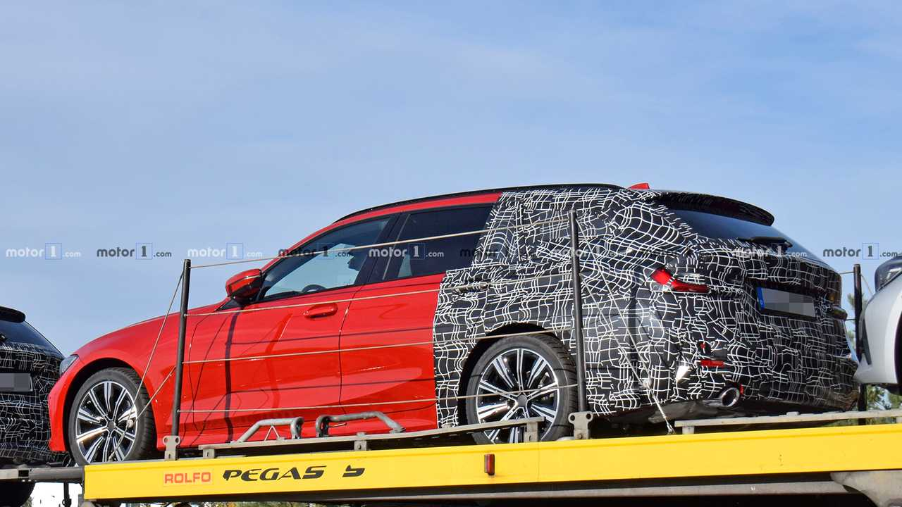 Flagra: BMW Série 3 Touring