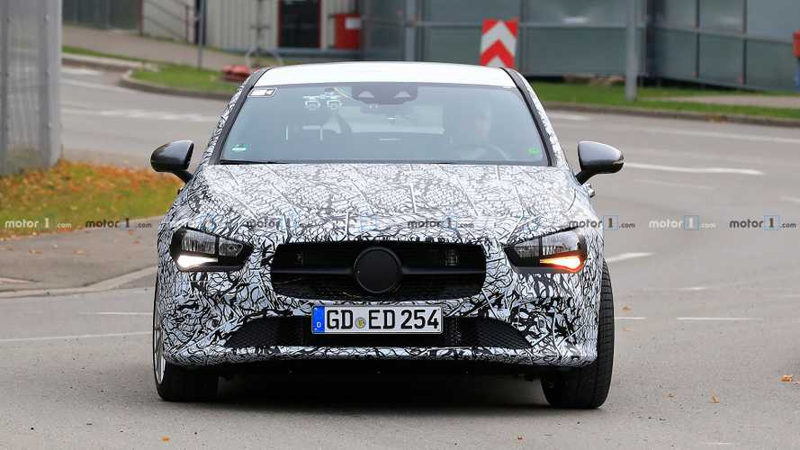 2020 Mercedes CLA Shooting Brake new spy photos