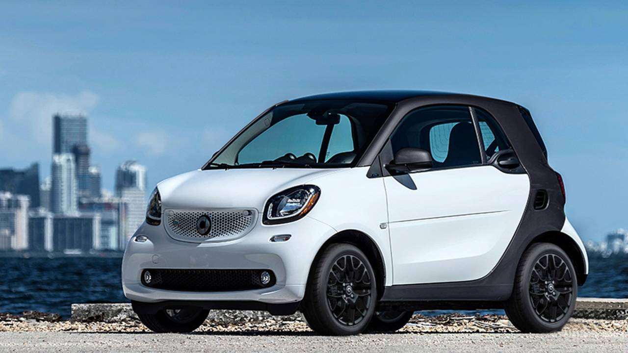 1. Smart ForTwo Electric Drive Coupe