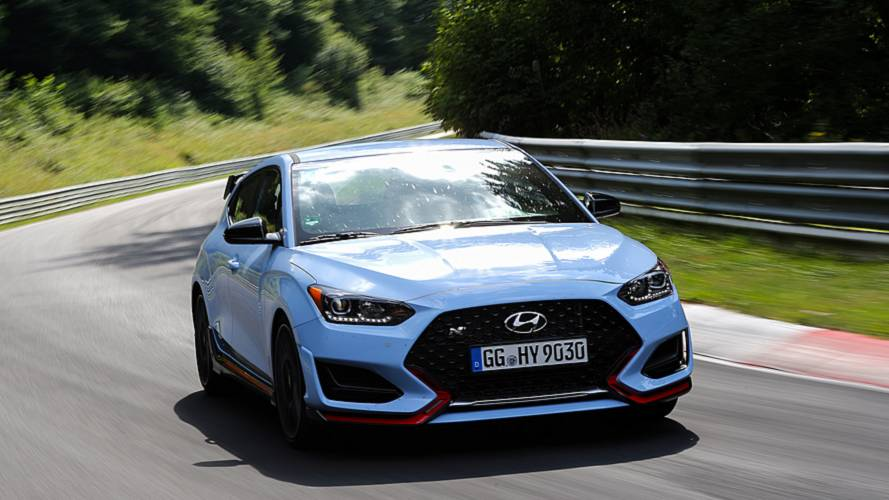 $155,000 Hyundai Veloster N TCR Ready To Go Racing