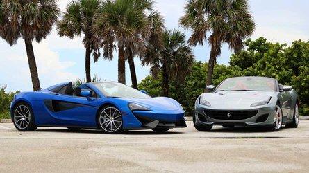 McLaren 570S Spider Vs. Ferrari Portofino: Made For Miami