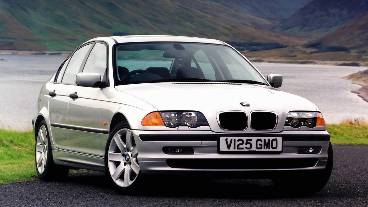 BMW 320d saloon UK spec E46