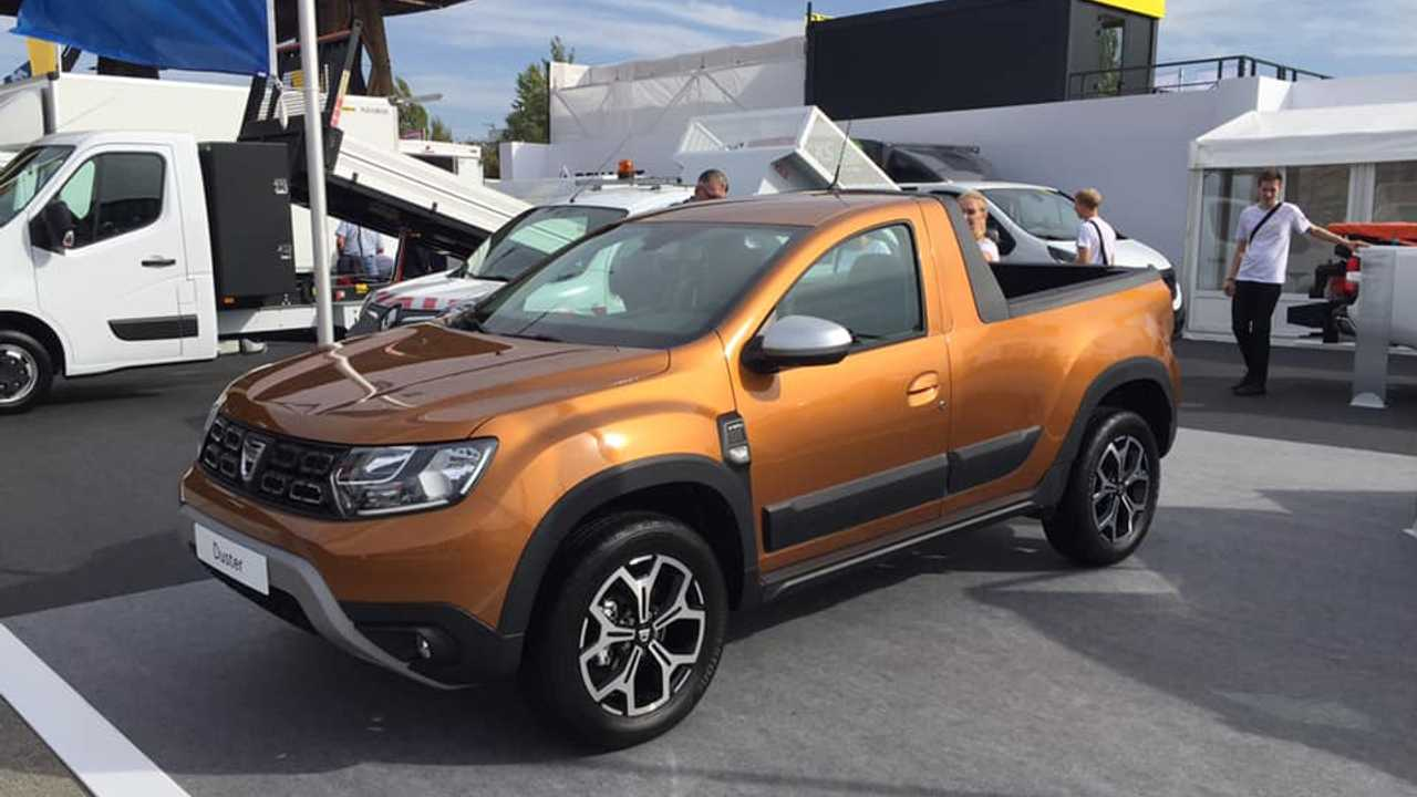 Dacia Duster pick-up Romturingia