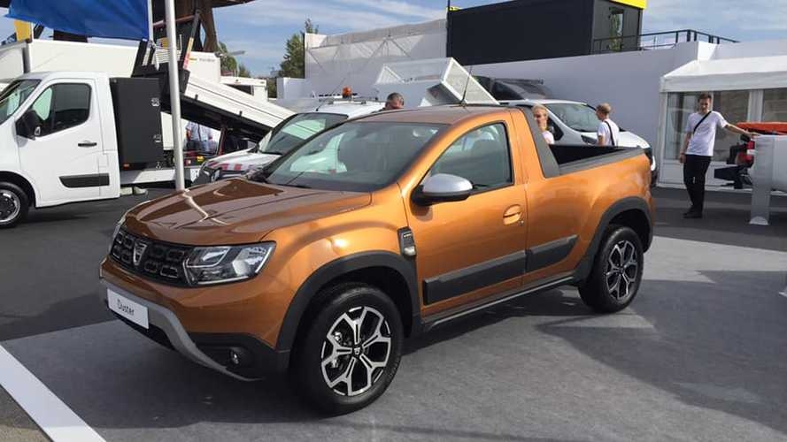 Dacia Duster gets pickup version