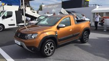 Romturingia Dacia Duster pick-up prototipi
