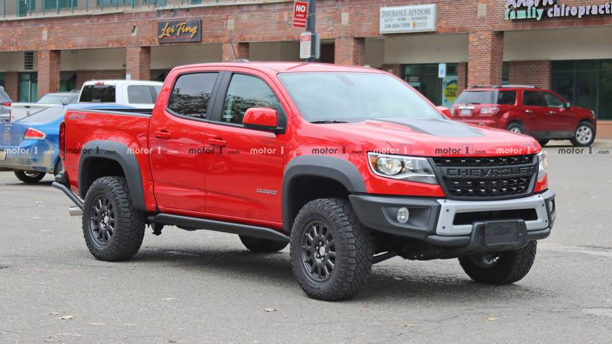 2019 Chevrolet Colorado ZR2 Bison Spotted Without Its Snorkel