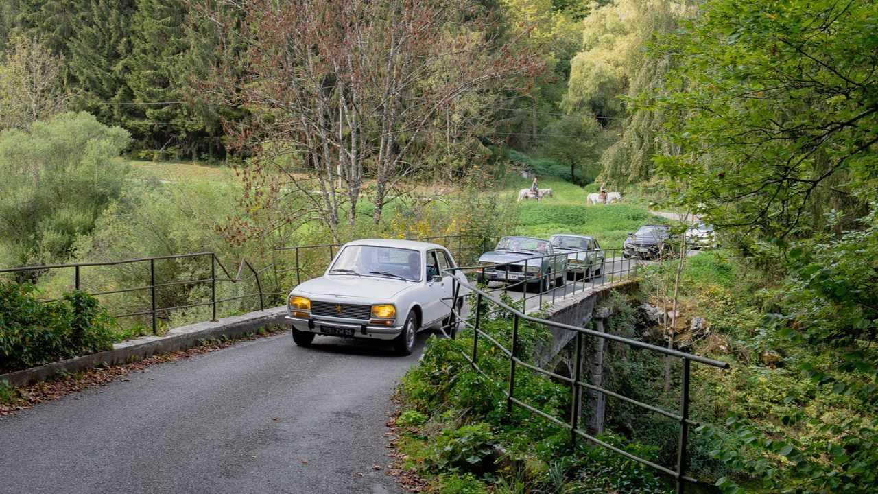 road trip Peugeot 508 / 504