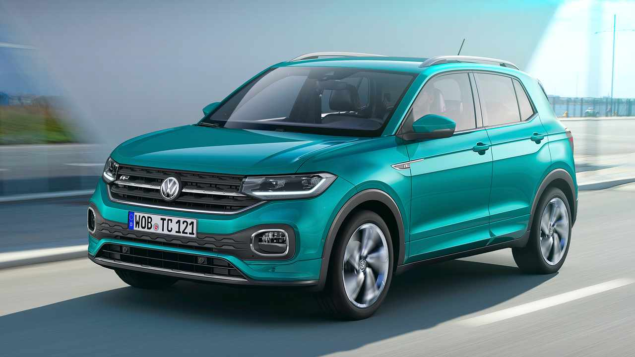 volkswagen t cross 2019 europa fotos. Black Bedroom Furniture Sets. Home Design Ideas