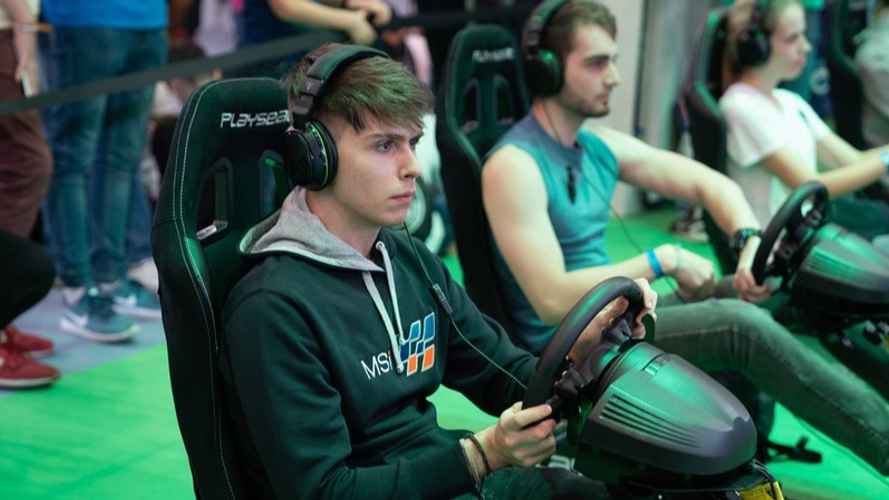 Le Mans eSports en Madrid Games Week