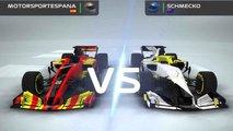 Videojuego F1 Mobile Racing