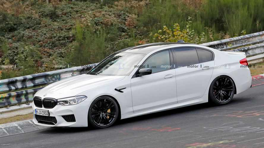 BMW M5 Spied Attacking The 'Ring Could Be A New CS Edition
