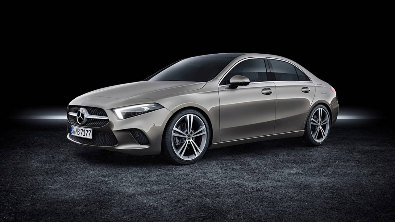 2019 Mercedes-Benz A-Class Sedan