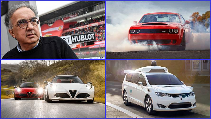 10 Highlights Of Sergio Marchionne's Illustrious Career