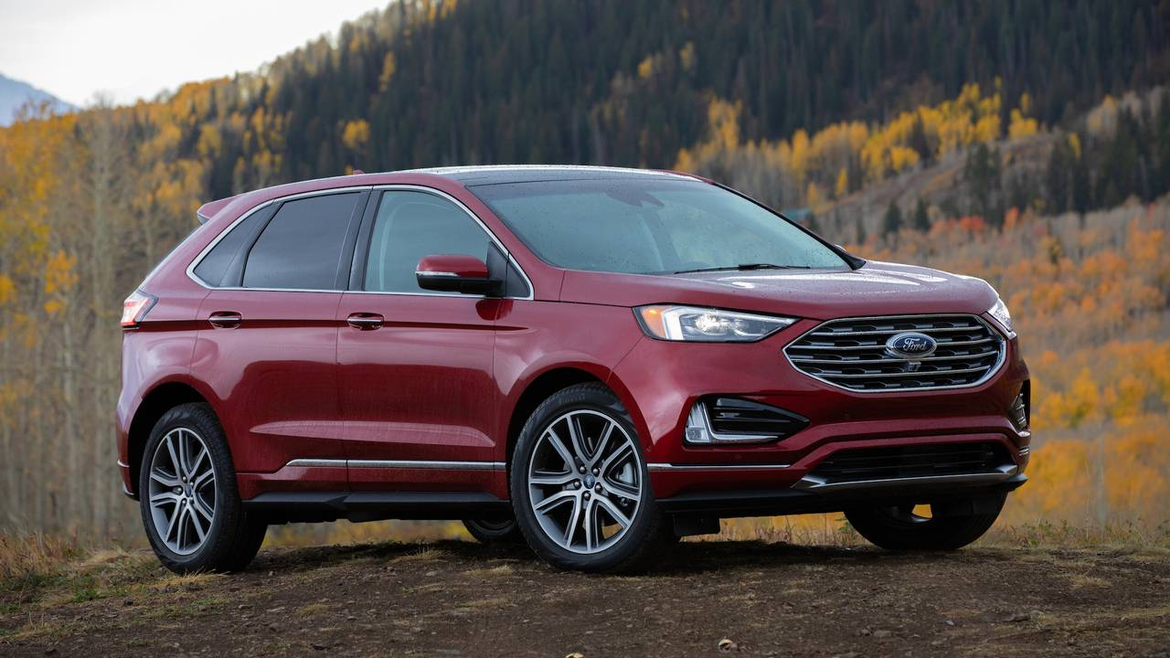 2019 ford edge titanium first drive on the edge of glory. Black Bedroom Furniture Sets. Home Design Ideas