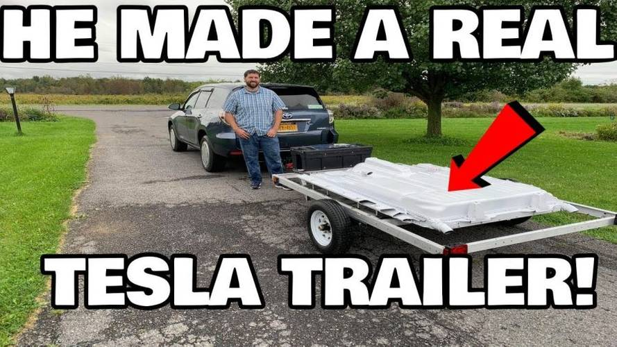 Check Out This Range-Extending Toyota-Tesla Trailer