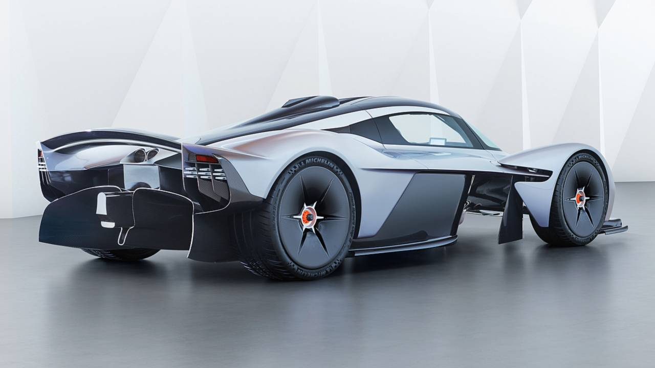 The Aston Martin Valkyrie S V12 Makes An Insane Noise