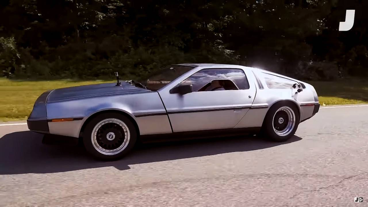 Four-Seat DeLorean