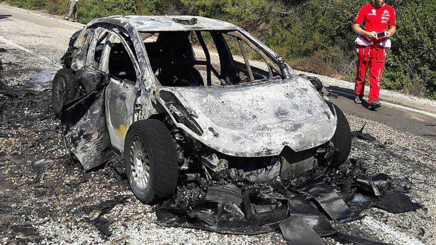 """Breen revient sur l'incendie """"déchirant"""" de sa Citroën"""