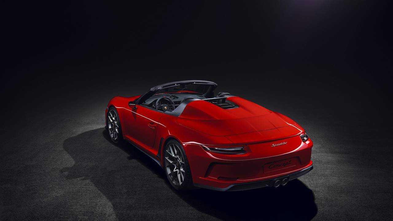 Nouveau concept Porsche 911 Speedster