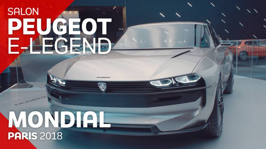 VIDÉO - Le concept-car Peugeot e-Legend en direct du Mondial 2018