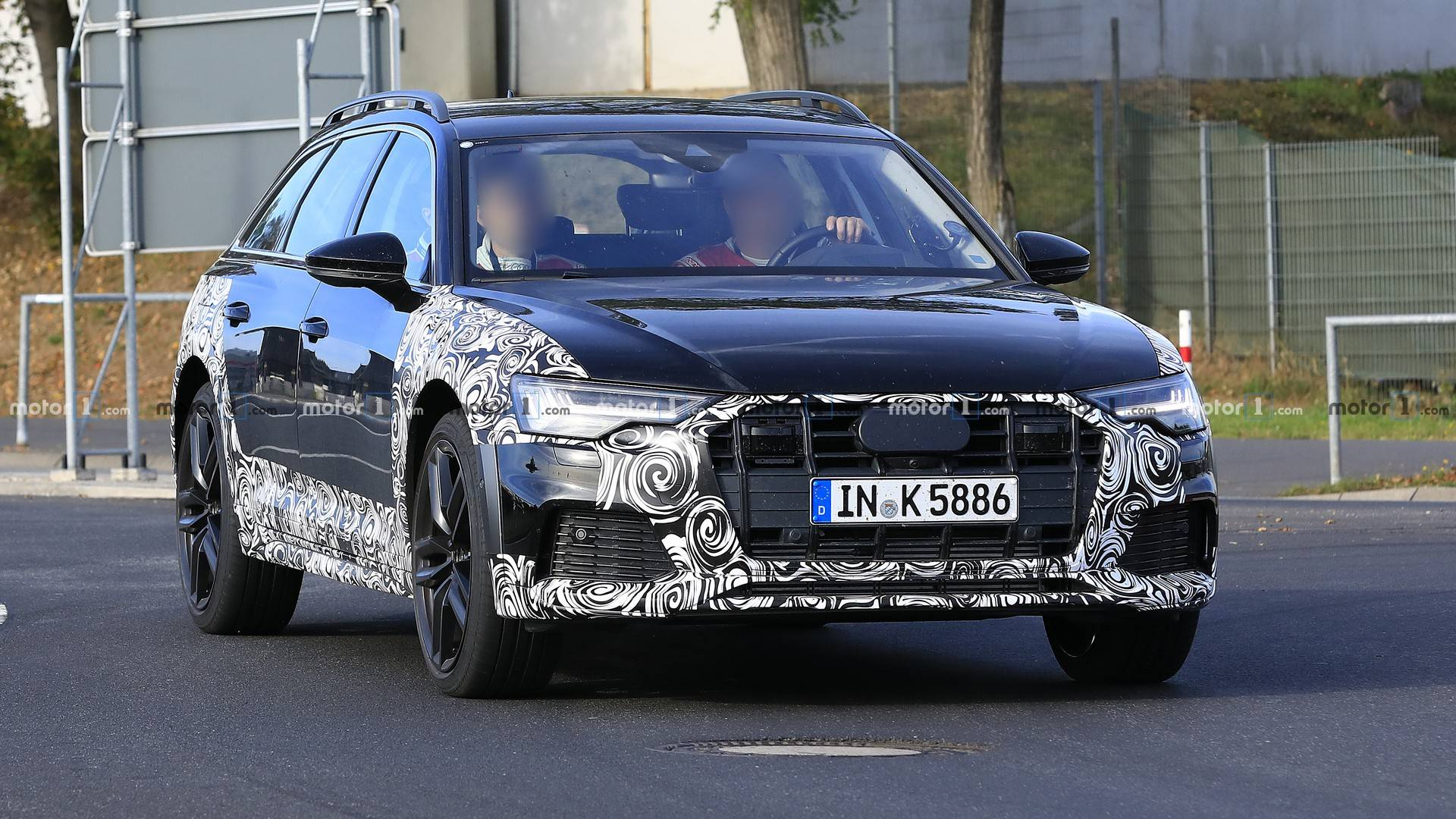 2020 Audi A6 Allroad Spied Shedding Some Camouflage