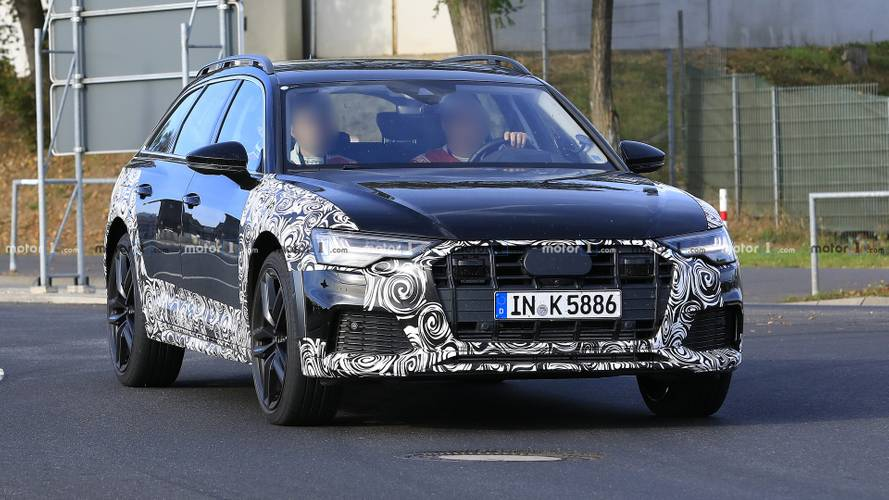 2020 Audi A6 Allroad new spy photos