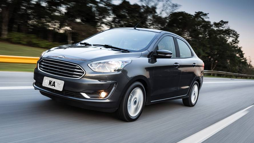 Parcial de abril: Ford Ka Sedan se mantém no top 10