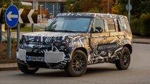 Land Rover Defender 2020 offizielle Erlkönigbilder