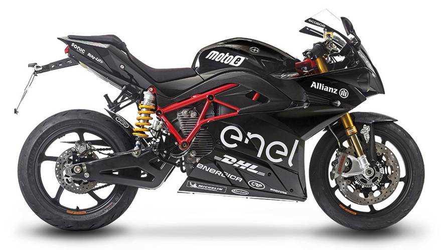 Energica Launches MotoE-Inspired Ego Sport Black