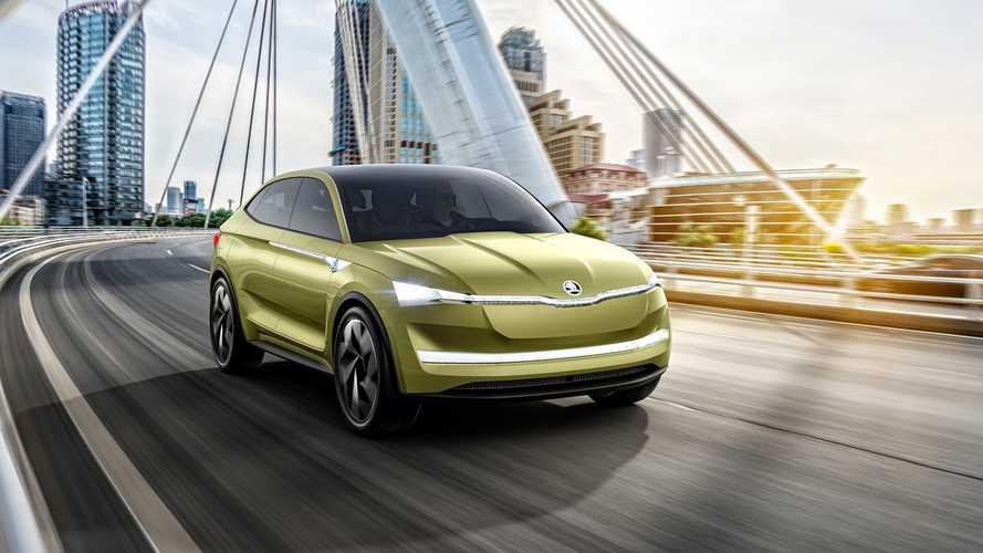RS változat is készül a Skoda elektromos SUV-jából