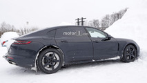 2019 Bentley Flying Spur spy photo