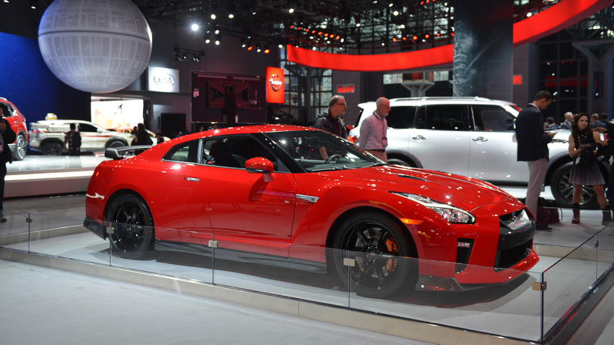 2017 Nissan GT R Track Edition   New York 2017 ...
