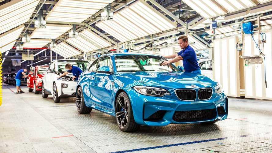 Pénurie de pièces chez BMW, une usine à l'arrêt