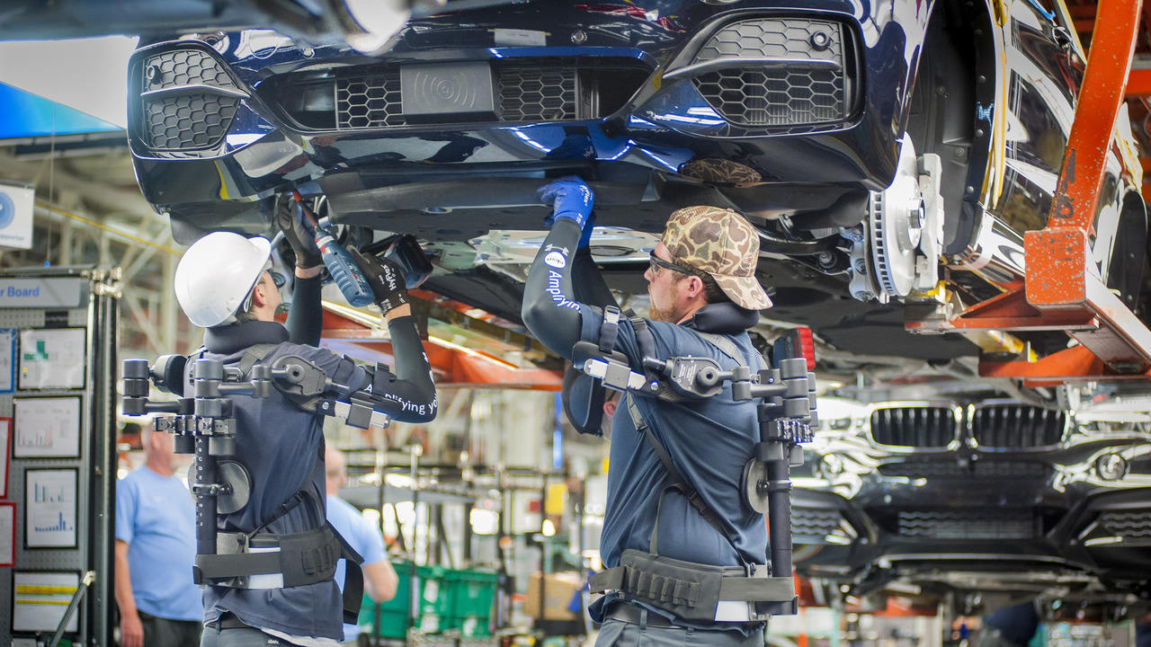 BMW workers at Spartanburg plant