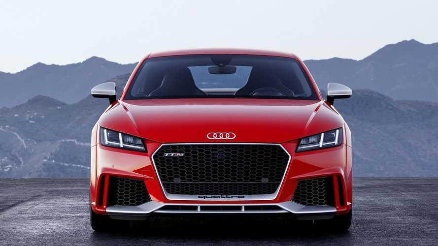 2018 Audi TT RS U.S. Spec