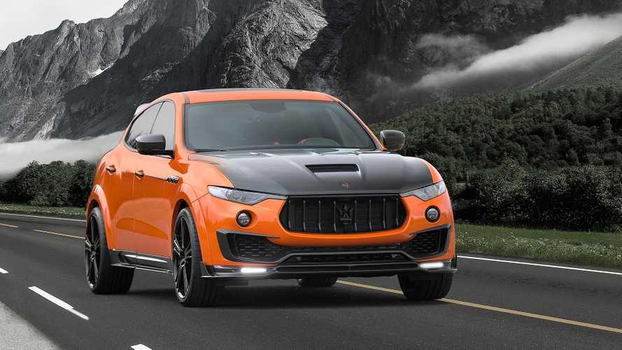 Mansory se penche sur le cas du Maserati Levante