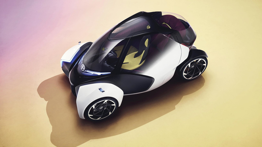 Toyota i-Tril Concept 2017, un