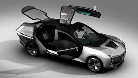 Qoros Model K-EV Shows Off Its Crazy Asymmetrical Doors