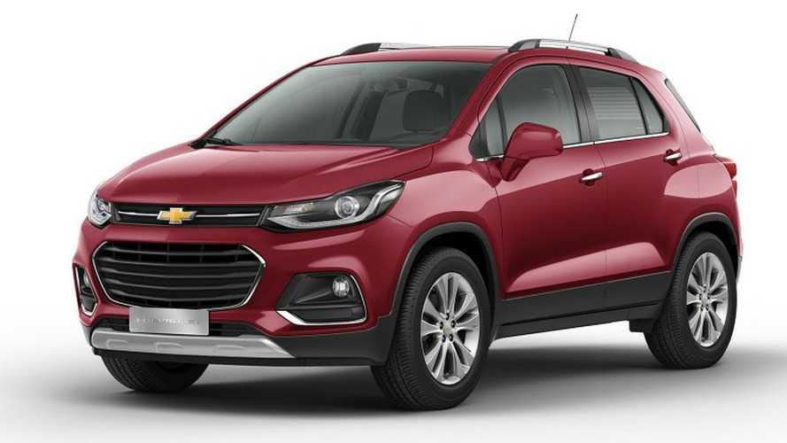Chevrolet Tracker 2017 estreia com ESP e tração 4x4 na Argentina