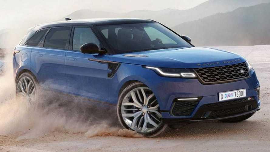 Projeção - Range Rover Velar SVR