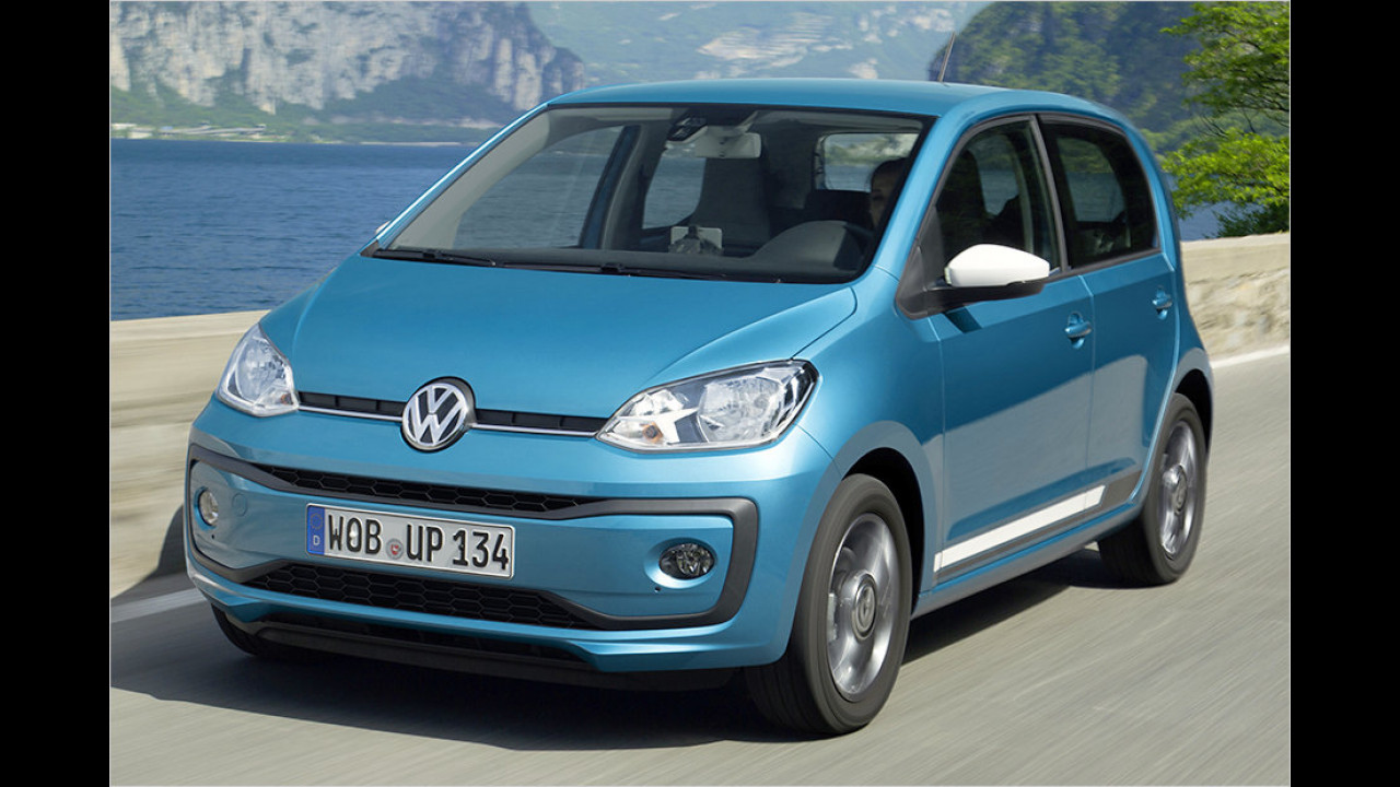 Kleinstwagen: VW Up als Bestseller