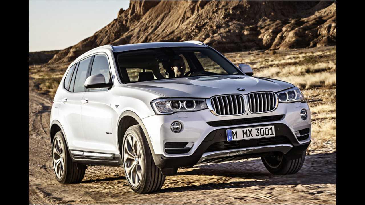 Konkurrenz: BMW X3