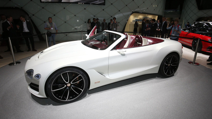 Bentley EXP 12 Speed 6e concept is an EV cabrio showstopper