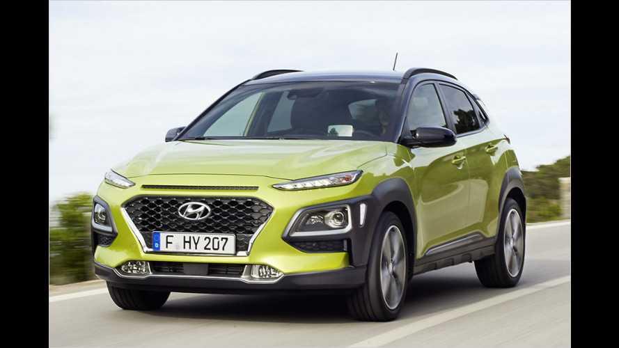 Hyundai Kona: Kleines SUV für junge Kunden